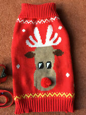 XMAS JUMPER FOR SMALL DOG-NEW