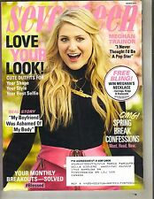 MEGHAN TRAINOR Seventeen Magazine 3/15 POP STAR