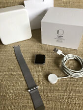 Apple Watch Series 1 42mm Stainless Steel - Excellent Condition Boxed