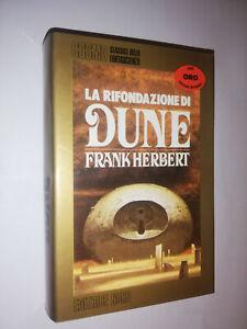 LA RIFONDAZIONE DI DUNE FRANK HERBERT 1°ED ITA COSMO ORO FANTASCIENZA - 029