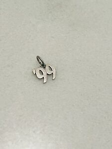James Avery rare retired charms Year of '99