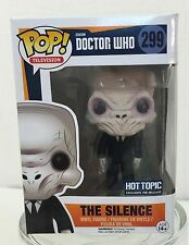 Funko POP! Television ~ BBC Doctor Who ~ THE SILENCE 299 ~ Vinyl Action Figure