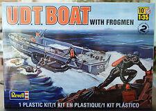 UDT Boat w. Frogmen Navy Seal Taucher Froschmänner Kampfschwim, 1:35, Revell 313