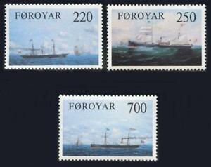 Faroe Islands: 1983 Cargo Ships (90-92) MNH