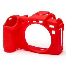 easyCover Silicone Skin Camera Armour Case to fit Canon EOS RP Mirrorless Red