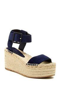 VINCE Abby Espadrille Platform Sandals E1060L1 NEW