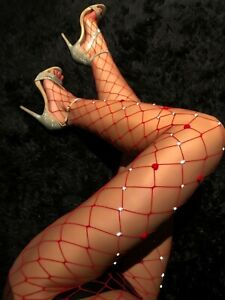 LINGERIE 38 40 SEXY BODYSTOCKINGS FISHNET UNDERWEAR COLLANTS FILET BAS