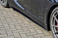 CUP2 Seitenschweller Schweller Sideskirts Schwert aus ABS Porsche Cayman 981