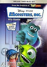 MONSTERS, INC ( Billy Crystal, John Goodman, Mary Gibbs, Steve Buscemi)  2 DVDs
