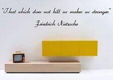 Vinyl Wall Decal Sticker Room Decor Quotes Inspiring Friedrich Nietzsche F2025