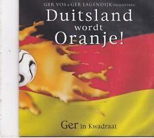 GEr Vos&Ger Lagendijk-Duitsland Wordt Oranje cd single