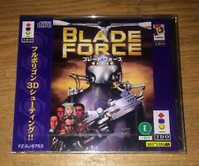 Brand New Blade Force 3DO Real Panasonic Game Fun Japan Import Video Games
