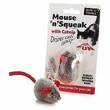 Ruff 'N' Tumble Mouse 'N' Squeak Catnip Toy - sgl - 755702