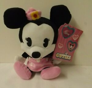 Disney Cuties - Minnie Mouse soft toy - new with tags