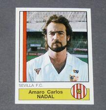 263 AMARO CARLOS NADAL SEVILLA PANINI LIGA FUTBOL 87 ESPAÑA 1986-1987 FOOTBALL