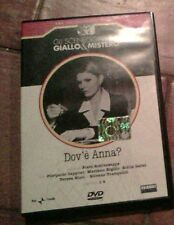 RARO - DOV'E' ANNA ? - EPISODI 1-4 - DVD CON LIBRETTO - SCENEGGIATI RAI - FABBRI