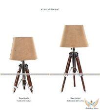 Antique Designer Wooden Lamp Stand Nautical Bed Side Tripod Floor Lamp ItemGft.