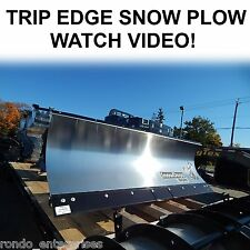 SnowDogg TRIP EDGE snow plow TE series 8' commercial snow plow. Lots of options