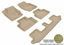 3D Anti-Skid 1 Set Fits XC90 2003-2014 GTCA42080 Tan Carpet Auto Parts Performan