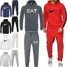 Mens Full Tracksuit Set Jogging Gym 2pcs Suit Sport Hoodie Pants Bottoms Sweater