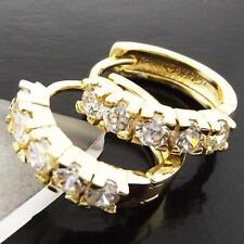 Cubic Zirconia 14k Yellow Gold Filled Fashion Earrings