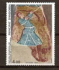Andorra ( Correo Francés ) : 1983 ( Església de La Cortinada ) MNH