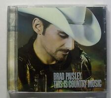 """Brad Paisley """"This is Country Music"""" CD"""