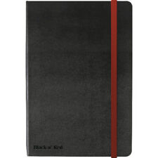 Black By Black n Red Hard Cover A4 Notebook Black 400038675