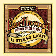 Ernie Ball Earthwood 2010 12-String Light 80/20 Bronze Acoustic Guitar 9-46