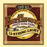 Ernie Ball 2010 Earthwood 12-String Light 80/20 Bronze Guitar Strings
