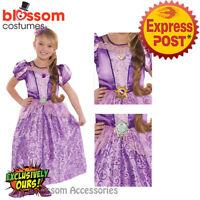 CK628 Girls Teen Miss Kitty Cat Animal Costume Fancy Dress Up Book Week Outfit