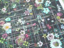 Christian Lacroix / Designers Guild Curtain Fabric VERANDA 1.0m Nuit - 100cm