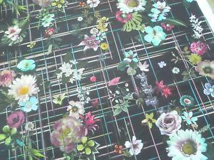 Christian Lacroix / Designers Guild Curtain Fabric VERANDA 3.1m Nuit - 310cm