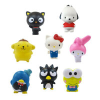 HELLO SANRIO SQUISHME SQUISHIEES 8 CHARACTERS 7CM - CHOOSE YOURS FAVORITE ONE