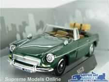 MGB ROADSTER CAR MODEL 1:43 SIZE GREEN CARARAMA SPORTS CONVERTIBLE CABRIOLET T3