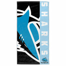 NRL Team Supporter Beach Bath Gym Towel - Cronulla Sharks - BNWT