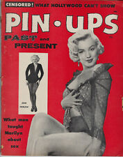 New listing MARILYN MONROE ON COVER PIN-UP PAST & PRESENT, MOVIE MAGAZINE, 1955