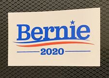 BERNIE SANDERS FOR PRESIDENT 2020 BUMPER STICKER DECAL