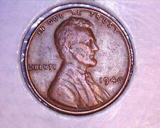 1940 struck thru lincoln wheat cent (#411)