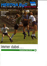 II BL 88/89 Hertha BSC Berlin - 1. FC Saarbrucken, 02.06.1989