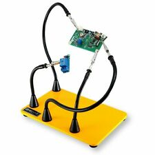 QuadHands WorkBench Helping Hands Third Hand Soldering Tool - Four Flexible Arms