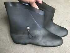 Women's Vintage Rain Boots Size 8. Awfully cool. Transluscent gray/green.