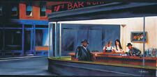 "HIP HOP CAFE POSTER  BY ARTIST JOHN MARTIN   LARGE 24"" x 36"" - NEW"
