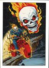 Vintage 1978 GHOST RIDER Pin up Poster Marvel Comics