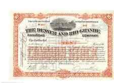 Denver and Rio Grande Railroad Company 1908 (versione RARE)