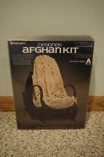 New Vogart Crafts Designer Afghan Kit 5301 Fisherman Lace