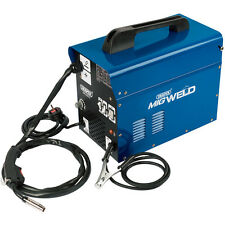 DRAPER 16057 100Amp Gasless/Gas Mig Welder Welding Machine & Flux Wire Tip New