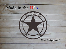 """20"""" Star Themed Front Door Wreath, Last name decor, Lone Star Art- DS1094"""