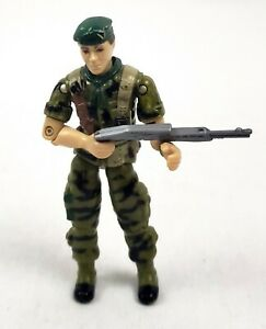 FALCON v1 1987 Vintage GREEN BERET w/ Shotgun Hasbro G.I. GI Joe Action Figure