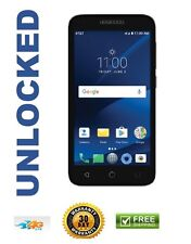 New Alcatel Ideal Xcite Black 5044r 4G LTE Unlocked 8Gb 5Mp Flash 5' Android 7
